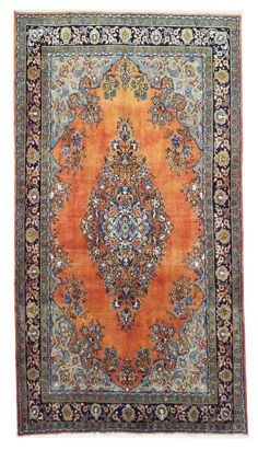 Sarug Handgeknüpft  Perser Teppich Rugs  355 x 231 cm tapis orient