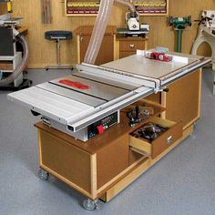 Tablesaw cabinet
