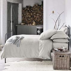 Stamford Single Bed | Beds | Furniture | Home | The White Company UK
