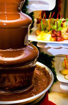 cheese fondue fountain