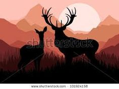 Image result for Silhouettes of nature