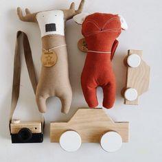 Scandinavian Design, Decorative Items, Baby Room, Dinosaur Stuffed Animal, Toys, Creative, Pretty, Woodland, Handmade