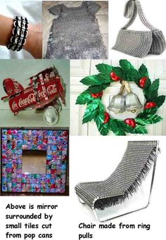 Soda can tab fashions