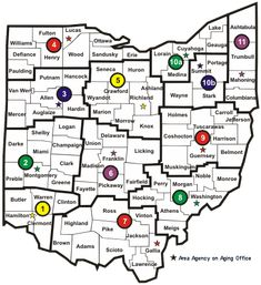 Ohio's Planning and Service Areas