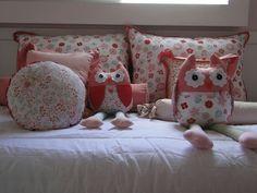 Cama de criança / cama de menina  Corujinhas  WhatsApp 11-993119329