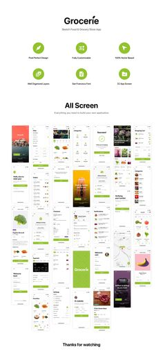 Grocerie - Sketch Food & Grocery Store App Informations About Grocerie - Sketch Food & Grocery Store App Pin You can easily use my profi App Ui Design, Mobile App Design, Interface Design, Grocery Shopping App, Grocery Store, Supermarket App, Supermarket Design, Font App, App Home Screen