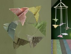 Origami Baby Mobile - bethsco