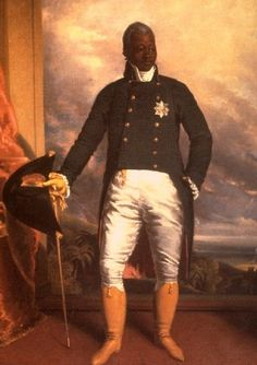 Henri Christophe (who used the anglicized version of Henry Christopher) (6 October 1767 – 8 October 1820) was a former slave and key leader in the Haitian Revolution, which succeeded in gaining independence from France in 1804. In 1805 he took part under Jean-Jacques Dessalines in the invasion of Santo Domingo (now Dominican Republic) against French forces, and was documented as killing hundreds of Dominicans, including prisoners