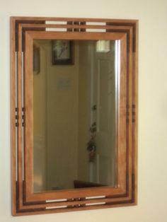 Handcrafted Arts & Crafts Mission/Prairie Style Cherry Mirror  | Home & Garden, Home Décor, Mirrors | eBay!