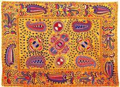 Embroidery from Uzbekistan.