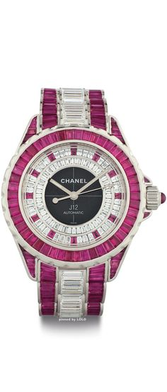 Diamond Watches Ideas : Chanel from www. - Watches Topia - Watches: Best Lists, Trends & the Latest Styles Coco Chanel, Chanel Pink, Chanel Paris, Chanel Jewelry, Fashion Jewelry, Chanel Watch, Beautiful Watches, Unique Watches, Patek Philippe