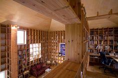 Shelf-Pod, by Kazuya Morita Architecture Studio / Osaka, Japan
