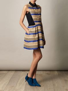 Another great stripe dress. Love!