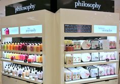 Image result for skincare retail store