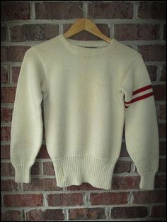 Vintage 1950's Rawlings Wool Varsity Sweater  by CharchaicVintage, $25.00