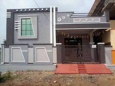 elevations of independent houses માટે છબી પરિણામ House Outer Design, Single Floor House Design, House Front Design, Small House Design, Modern House Design, 3 Storey House Design, Bungalow House Design, Exterior House Colors, Exterior Design