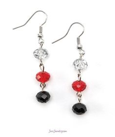 Hot Wired Earrings $15 (E-010008 - The Finishing Touch) pg. 35