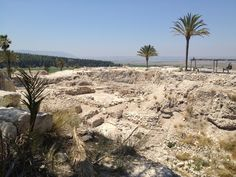 "Megiddo, also known as Armageddon, considered the site of ""the end of the world"" ... or at least as we know it ...  Layers of civization dating back thousands of years."
