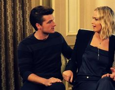 don't tell me they don't look like an old married couple.