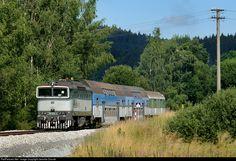 RailPictures.Net Photo: CD 754 031 3 Ceske Drahy CD 754 at Cerna v Posumavi, Czech Republic by Jaroslav Dvorak
