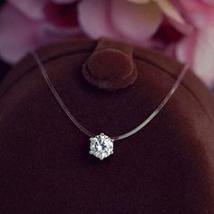 New  Invisible Fishing Line With Clear AAA+Zircon Pendant Necklace For Women necklace go fishing collier file de peche Jewelry //Price: $7.95 & FREE Shipping // Get it here ---> https://bestofnecklace.com/new-invisible-fishing-line-with-clear-aaazircon-pendant-necklace-for-women-necklace-go-fishing-collier-file-de-peche-jewelry/    #best_of_Necklace