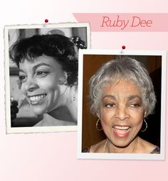 The secret to aging gracefully? Not fighting it. At 87, legendary entertainer and activist Ruby Dee is truly naturally beautiful. Does it really matter what's shifted, fallen or lost its definition?