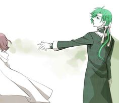 Yona and Jae-ha. ;_; by 青葉 on pixiv