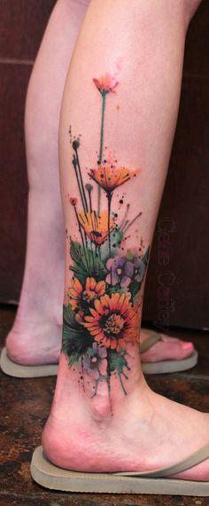 Gene Coffey - abstract tattoos