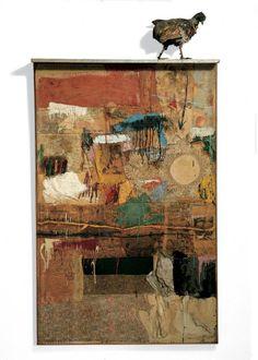 """Robert Rauschenberg, """"Satellite"""", 1955"""