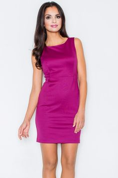 Looking for Day Dresses? Call off the search with our Sleeveless Mini Dress In Fuchsia. Shop unique fashion at SilkFred Day Dresses, Evening Dresses, Formal Dresses, Unique Fashion, Base Clothing, Fuschia Dress, White Dress, Sheath Dress, Stylish Outfits