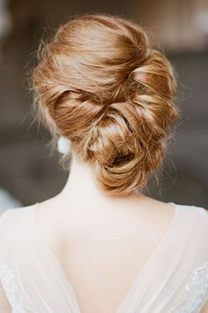 Fantastic Wedding Hairstyles ---  Side Updo