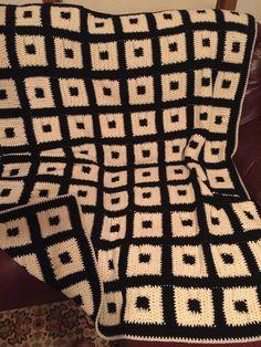Handmade Panda Theme Blanket/afghan by FaishasCozyBlankets on Etsy