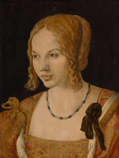 Albrecht Dürer - Portrait of a Young Venetian Woman - Google Art Project - Albrecht Dürer — Wikipédia