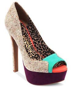 Jessica Simpson Shoes, Emmie Platform Pumps