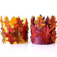 Super Cute Thanksgiving Hat Crafts: Harvest Crown: How-To (via Parents.com)