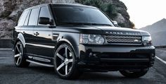 Black Range Rover Sport on Vossen VVS-CV3
