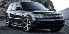 Black Range Rover Sport on Vossen VVS-CV3