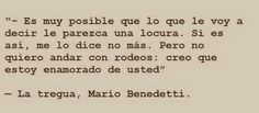 Fragmento de la tregua #Benedetti