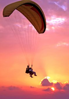 Paragliding is great fun. I took a couple of my kids for their birthday present.