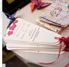 Cute fan idea DIY Wedding Invitations,Programs, and More! Diy Wedding Fans, Diy Wedding Programs, Wedding Program Fans, Wedding Stationary, Wedding Wishes, Wedding Paper, Our Wedding, Dream Wedding, Fan Programs
