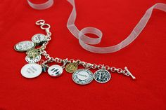 Create a custom charm bracelet from Initial Outfitters!