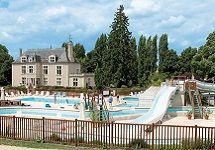 camping loire - kasteelcamping - kamperen Loire #frankrijk via www.zook.nl/kamperen/kasteelcamping-frankrijk
