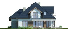 Hermiona Nowa II House Construction Plan, Home Fashion, Houses, Cabin, House Styles, Home Decor, Projects, Homes, Decoration Home