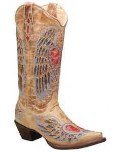 I have loved these Corral Ladies Boots for the couple years, but I can't bring myself to buy them! ❤️ them!