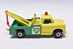 Matchbox Superfast No.13 Dodge BP Wreck Truck, Tow Truck, 1970's, Made in England, Original Vintage Die Cast Toy Car Collection by RememberWhenToys on Etsy