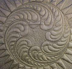 Machine Quilting Patterns, Longarm Quilting, Free Motion Quilting, Hand Quilting, Quilting Projects, Quilt Patterns, Quilting Ideas, Whole Cloth Quilts, Quilt Stitching