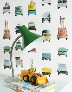 Work Vehicles | Wallpaper from the 70s