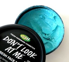 LUSH - Don't Look At Me face mask
