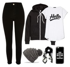 Casual - Winter by chameleonofdoom on Polyvore featuring H&M, River Island, Givenchy, Casetify and Dakine