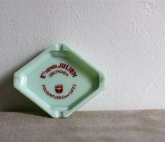 vintage jadite french bistro ashtray by voladoravintage on Etsy